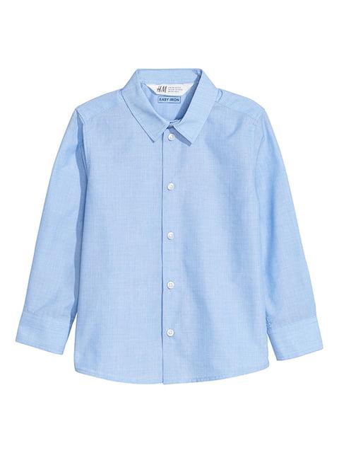 Сорочка блакитна H&M 5148432