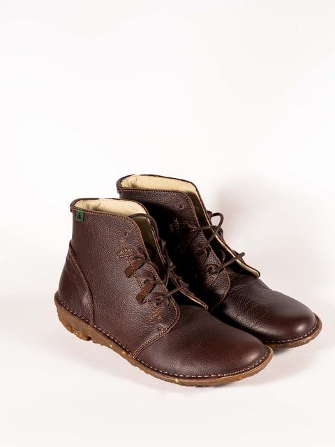 Черевики коричневі El Naturalista 5150337