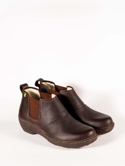 Черевики коричневі El Naturalista 5150344