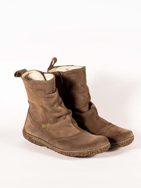 Ботинки цвета хаки El Naturalista 5150357