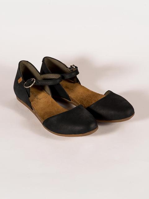 Туфли черные El Naturalista 5150415