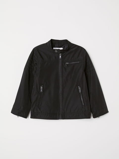 Куртка чорна H&M 5148551