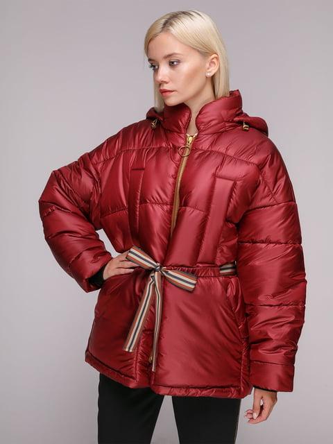 Куртка красная Dolcedonna 5126236