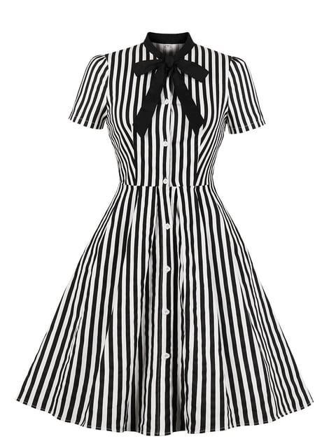 Сукня біла в смужку Mixinni 5154170