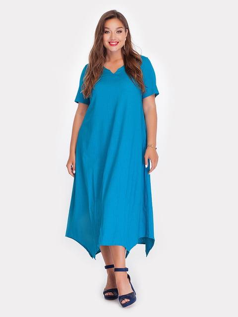 Платье цвета морской волны Peony 3778374