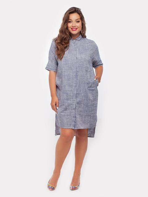 Платье серое Peony 4265976