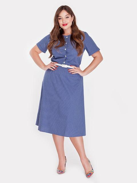 Платье джинсового цвета Peony 4396056