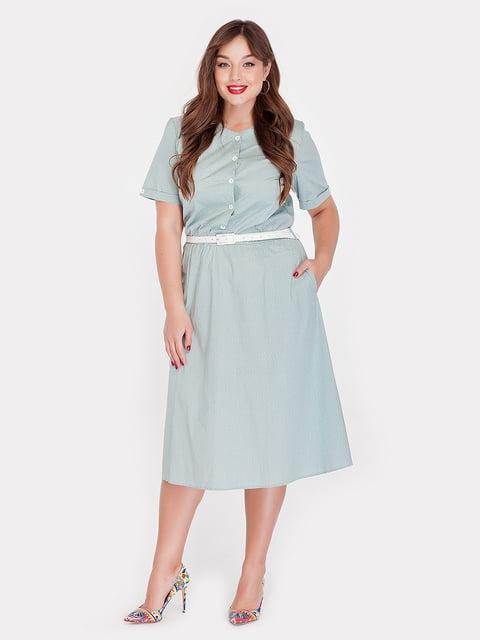 Платье мятного цвета Peony 4396057