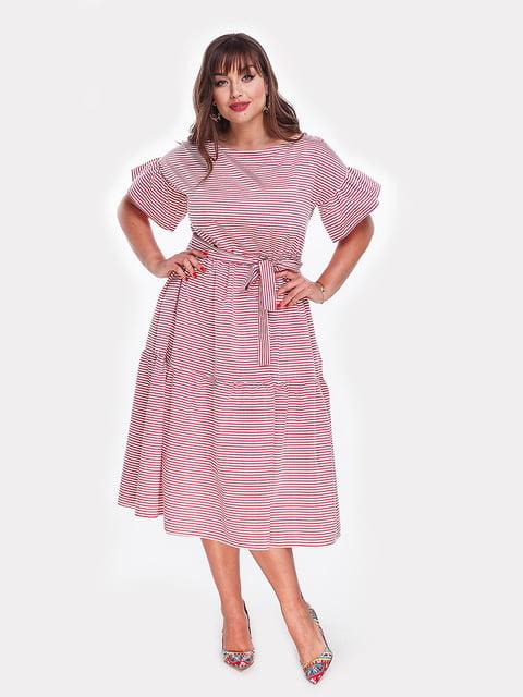 Платье бордовое Peony 4977626