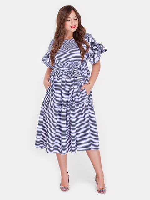 Платье синее в полоску Peony 5096799