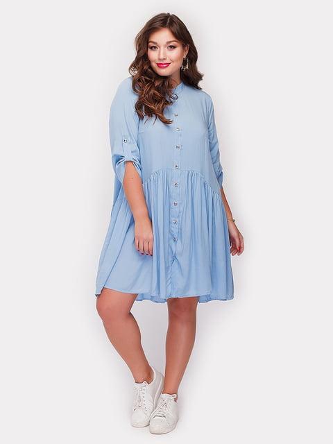 Платье голубое Peony 5105105