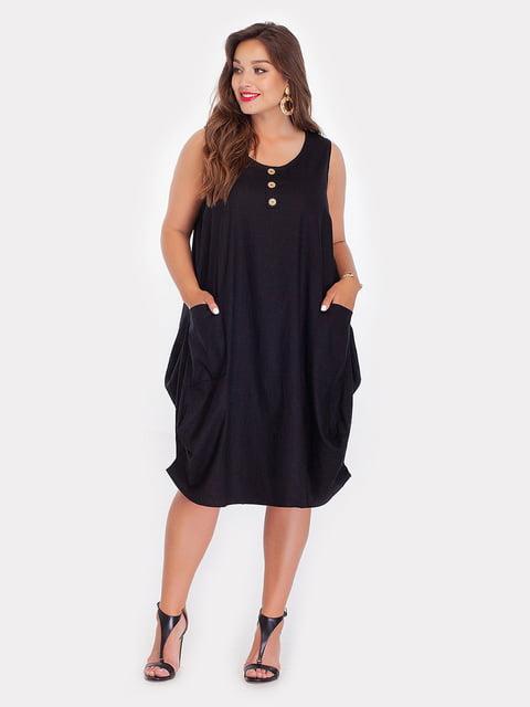 Платье черное Peony 5124500