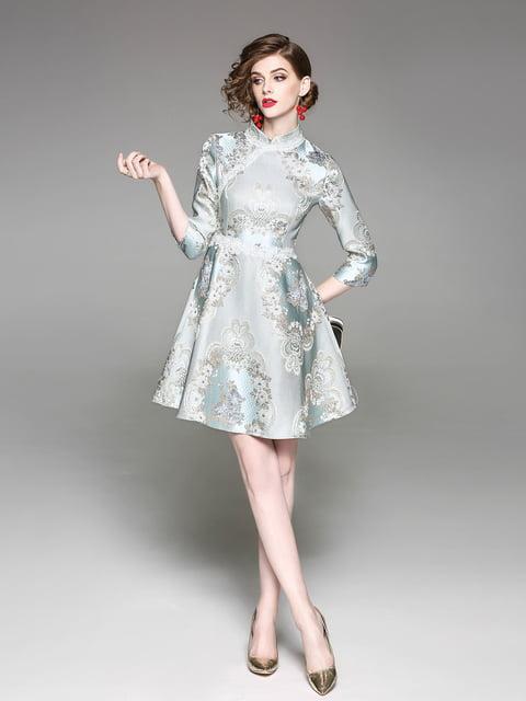 Платье зеленое Zeraco 5155176