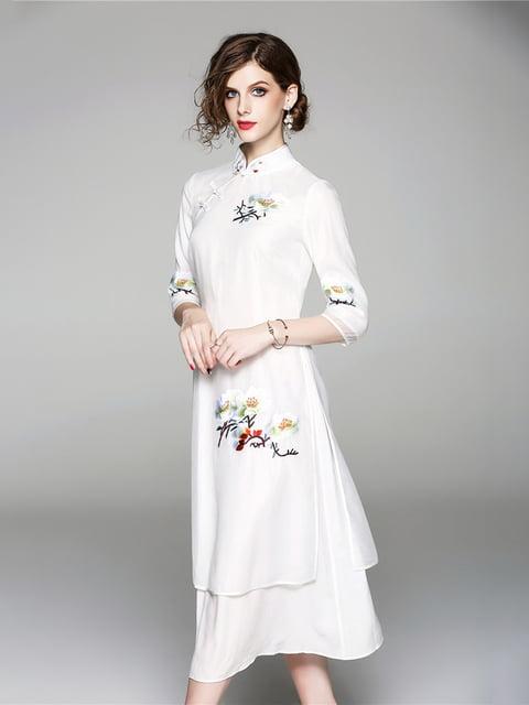 Платье белое Zeraco 5155184