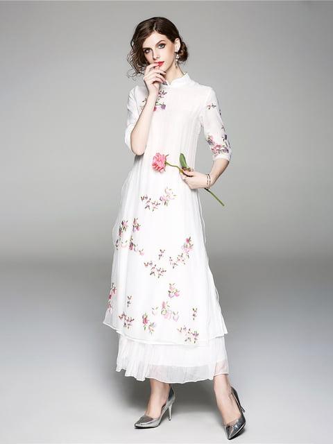 Платье белое Zeraco 5155187