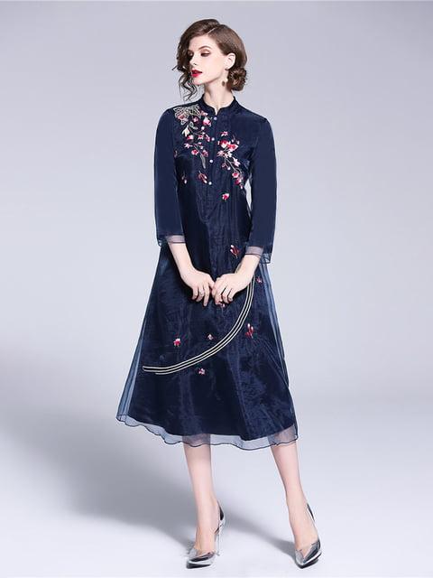 Платье синее Zeraco 5155191
