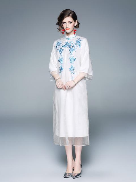 Платье белое Zeraco 5155228