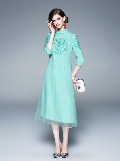 Платье зеленое Zeraco 5155231