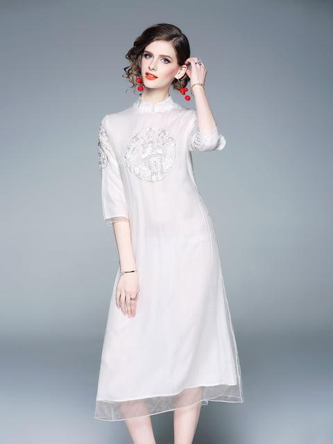 Платье белое Zeraco 5155232