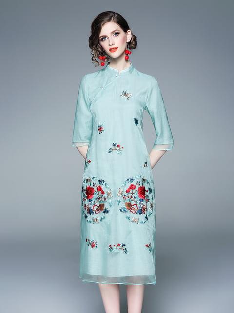 Платье светло-зеленое Zeraco 5155235