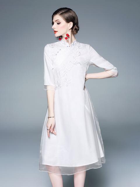 Платье белое Zeraco 5155237