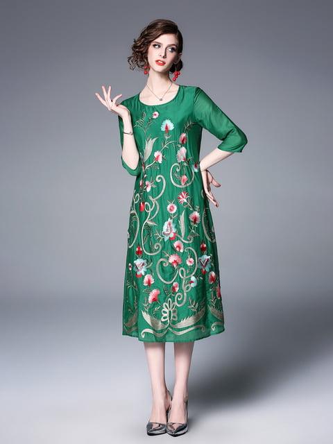 Платье зеленое Zeraco 5155250