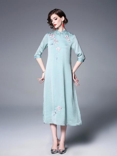 Платье зеленое Zeraco 5155254