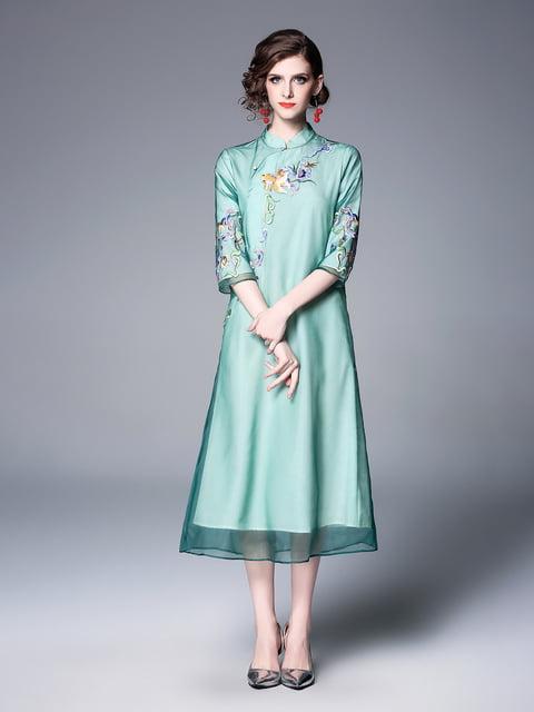 Платье зеленое Zeraco 5155256
