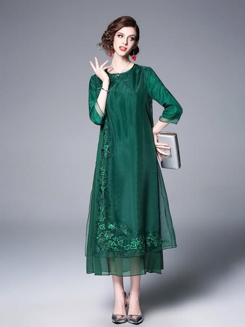 Платье зеленое Zeraco 5155257