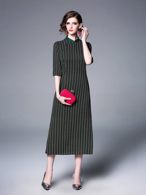 Платье зеленое Zeraco 5155261
