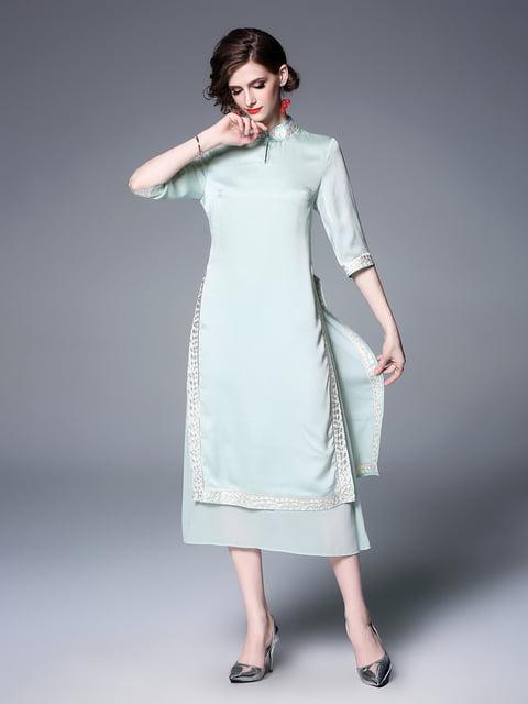 Платье зеленое Zeraco 5155269