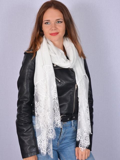 Палантин белый Fashion Look 5158495