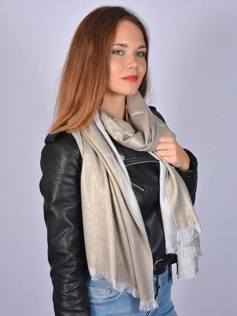 Палантин золотистий Fashion Look 5158501