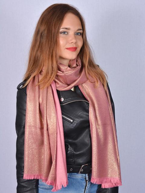 Палантин розовый Fashion Look 5158503