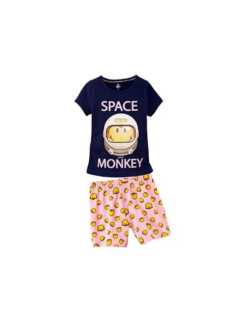 Піжама: футболка і шорти Smiley 5153847