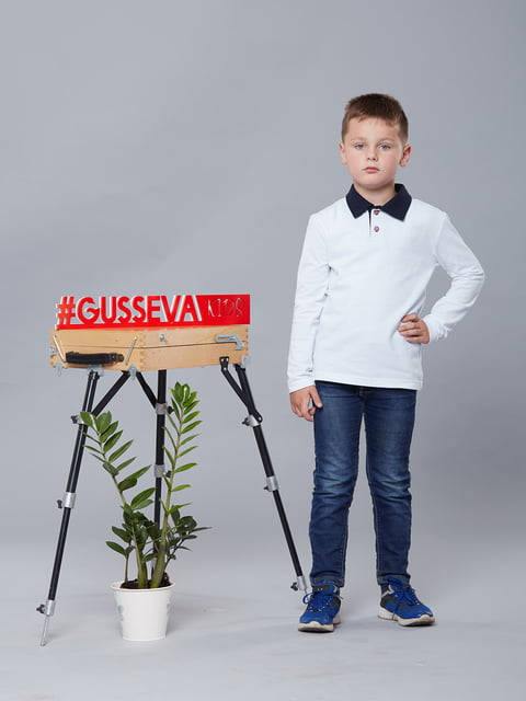 Футболка біла Gusseva KIDS 5162618