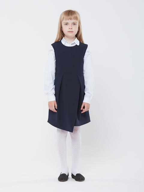 Сарафан синий Gusseva KIDS 5162621
