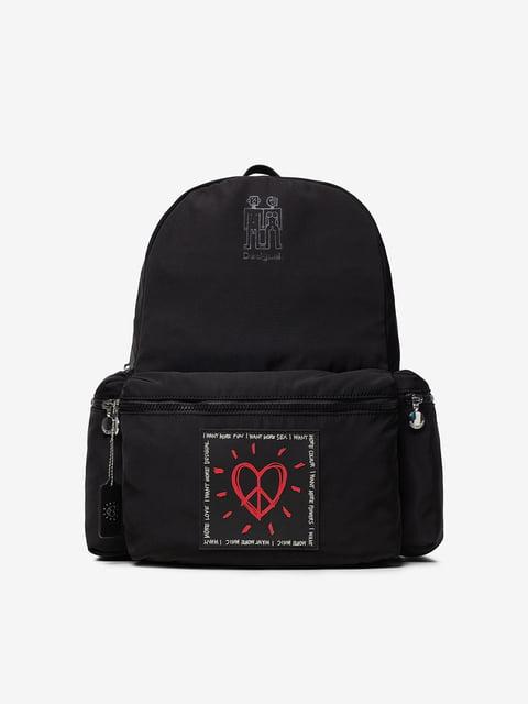 Рюкзак чорний Desigual 5143136