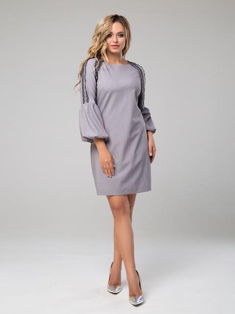 Платье серое Luzana 5162835