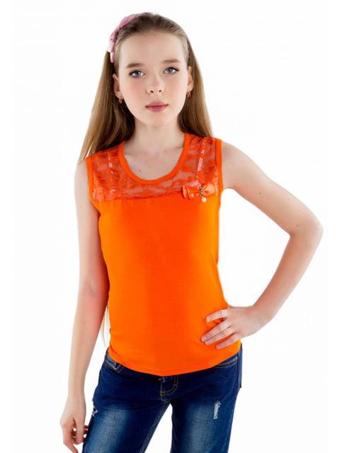 Майка оранжевая Tashkan 5163273