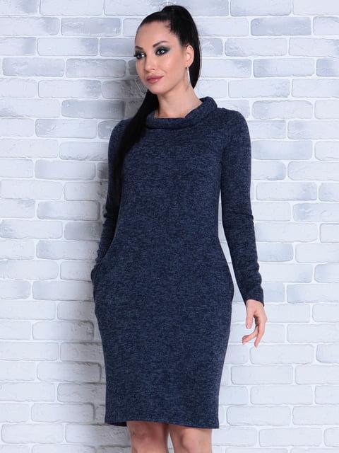 Платье темно-синее Victoria Loks 4840878