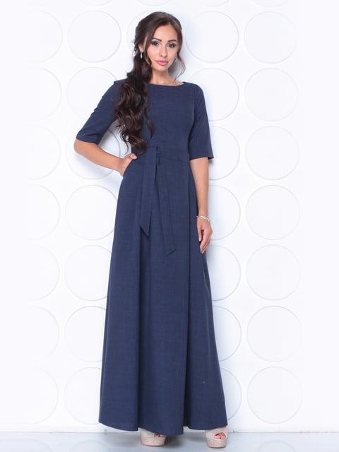 Сукня темно-синя Laura Bettini 5163357