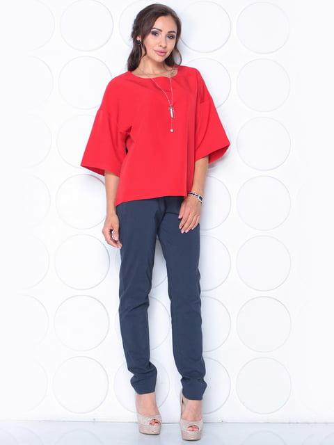 Блуза червона Laura Bettini 5163359