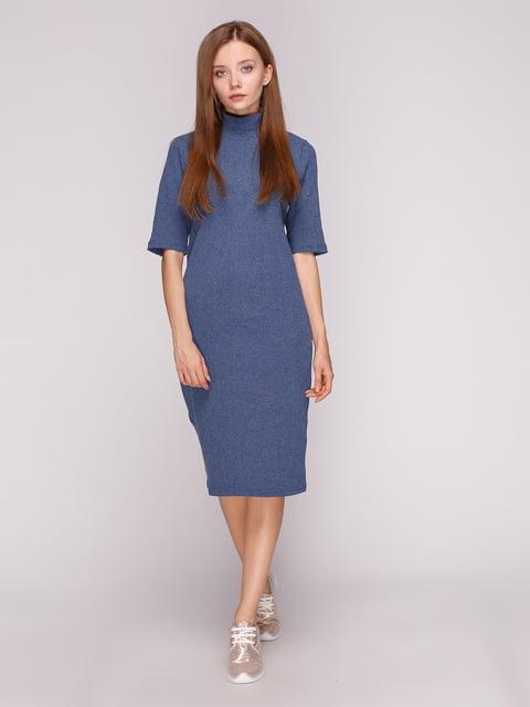 Платье темно-синее Роза 5163595