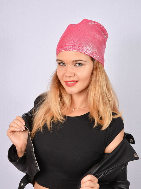 Шапка рожева Fashion Look 5165000