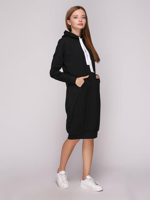 Платье черное Роза 5163581