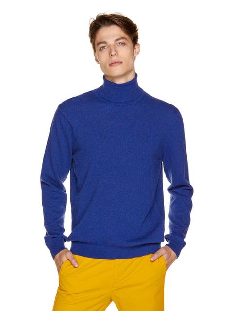 Светр синій Benetton 3671438