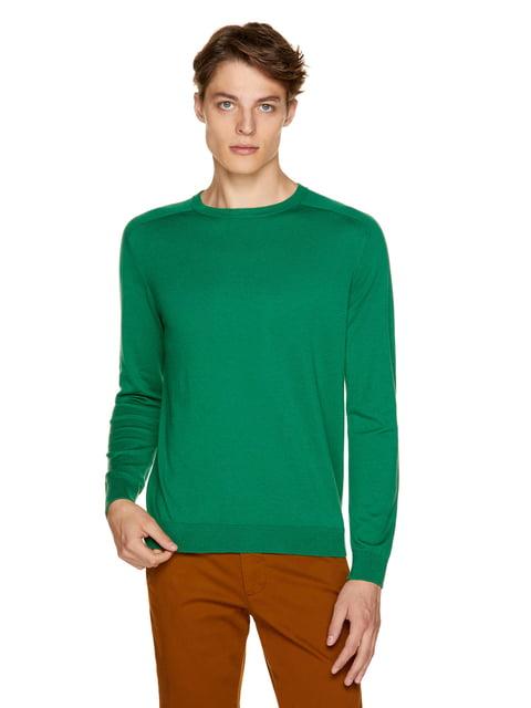 Джемпер нефритового кольору Benetton 5149752