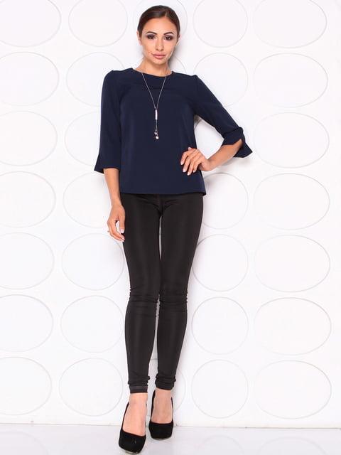 Блуза темно-синяя Laura Bettini 5165055
