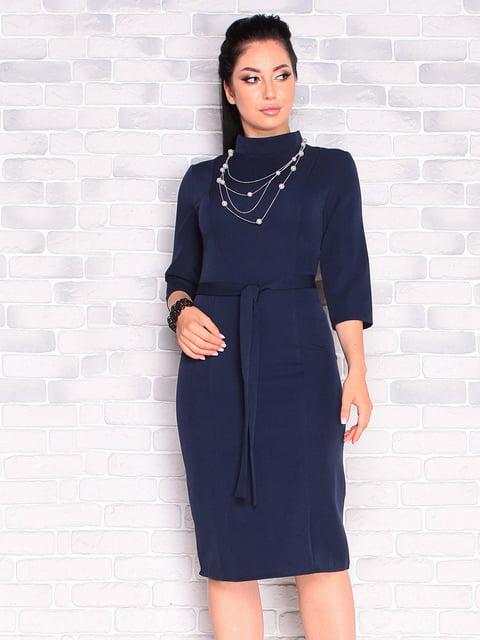 Платье темно-синее Victoria Loks 5165252
